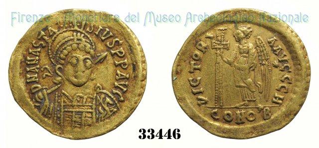 VICTORI AAVCCC H 491-498AD (Costantinopoli)