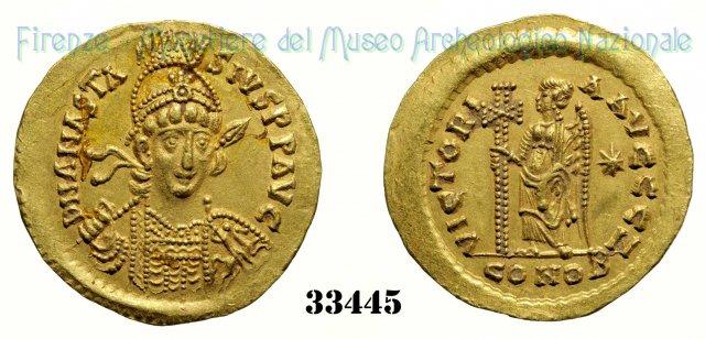 VICTORI AAVCCC Z 491-498AD (Costantinopoli)
