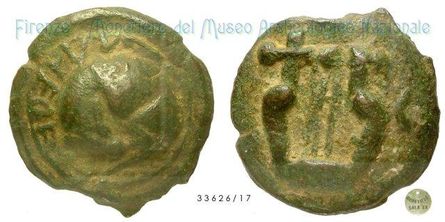 Semisse 280-240BC (Tuder)