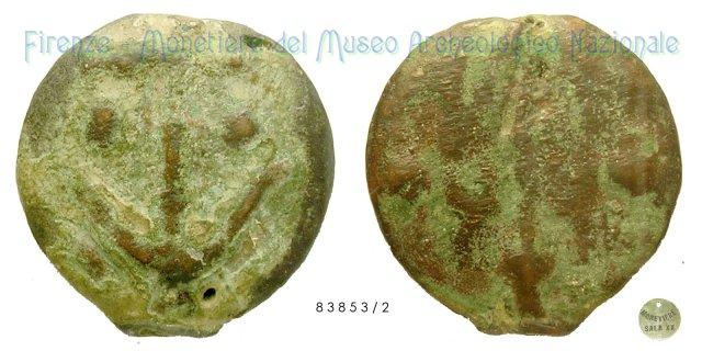 Serie Ancora - Tridente 300-275BC (Incerta Centro Italia)
