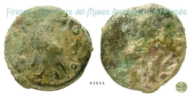 Serie Aquila - Polpo 300-275BC (Incerta Centro Italia)