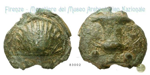 Serie Conchiglia - Cantharos 300-275BC (Incerta Centro Italia)