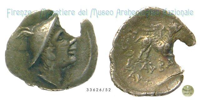 Serie Mercurio - Grifone 280-275BC (Alba Fucens)