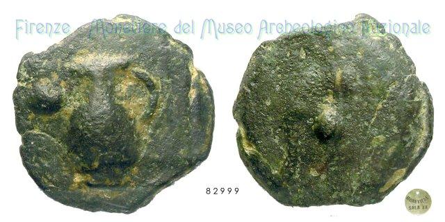 Serie Oinochoe - Pedum 300-275BC (Incerta Centro Italia)