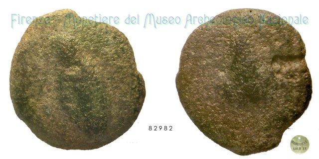 Serie Punta di lancia - Grappolo d'uva 280-260BC (Incerta Centro Italia)
