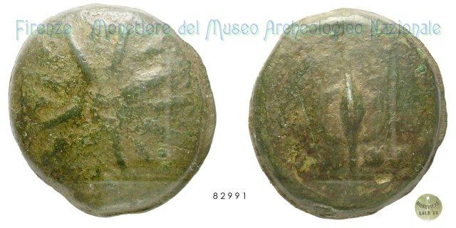 Serie Stella - Scudo 300-275BC (Incerta Centro Italia)