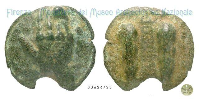 Triente 280-240BC (Tuder)