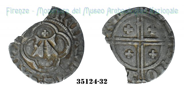 Mezzo Grosso 1383-1391 (Avigliana:Nyon:Susa)