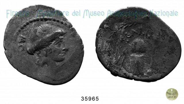 T. Carisius 46BC (Roma)