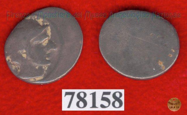 Testa di Turms a d. / senza tipo (HN Italy 163) 400BC (Pupluna)