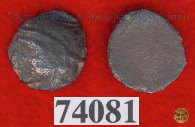 Testa di Turms a s. / senza tipo (HN Italy 163) 400BC (Pupluna)