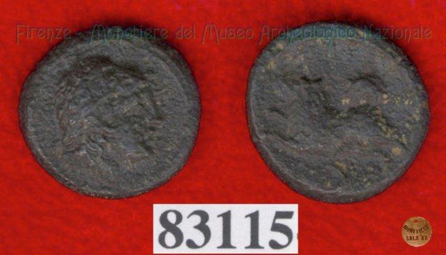 Testa maschile / Cane - ) (HN Italy 70) 299-200BC (Val di Chiana)
