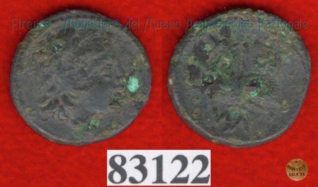 Testa maschile / Cane - sigma (HN Italy 70) 299-200BC (Val di Chiana)