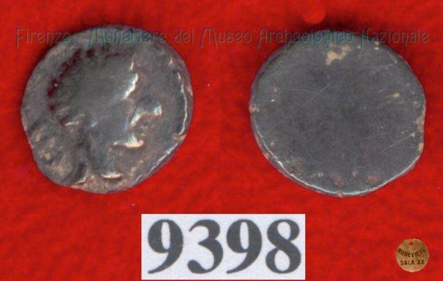 Testa maschile / senza tipo (HN Italy -) 400BC (Pupluna)